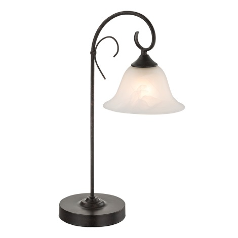 Globo 68410-1T -Asztali lámpa ARIES 1xE27/60W/230V