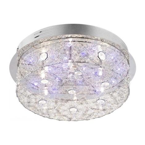 Globo 68625-6 - Mennyezeti lámpa RETICULI LED 6xG4/20W + 22xLED/0,06W