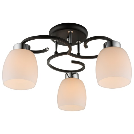 Globo 69018-3 - Mennyezeti lámpa PESSOA IV 3xE27/40W/230V