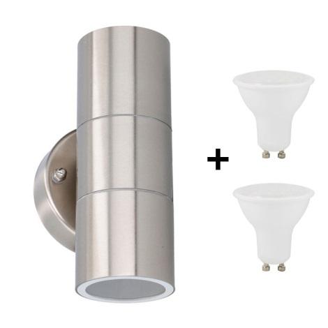 Grundig 07531 - LED Kültéri fali lámpa 2xGU10/4W/230V IP44