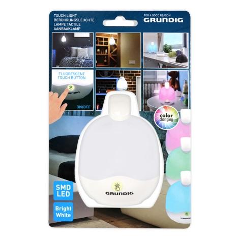 Grundig 14721 - LED RGB lámpa LED / 3xAAA