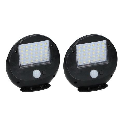Grundig - KÉSZLET 2x LED Szolár érzékelős fali lámpa LED/3,2V