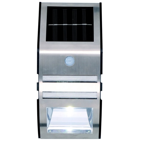 Grundig - LED Szolár fali lámpa érzékelővel 1xLED IP44