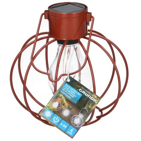 Grundig - Szolár lámpa 4xLED/1,2V