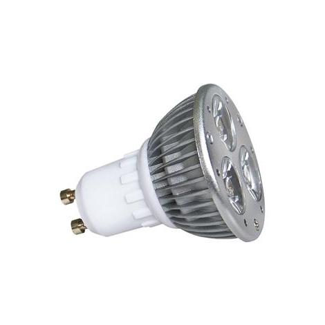 GXLZ009 - LED POWER LED-es izzó GU10/3W hideg fehér