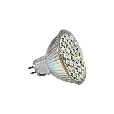 GXLZ030 - LED60 SMD LED-es izzó MR16/4W hideg fehér