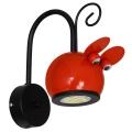 Gyerek fali lámpa MOUSE 1xGU10/40W/230V piros