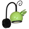 Gyerek fali lámpa MOUSE 1xGU10/40W/230V zöld