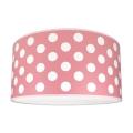 Gyerek mennyezeti lámpa DOTS PINK 2xE27/60W/230V rózsaszín