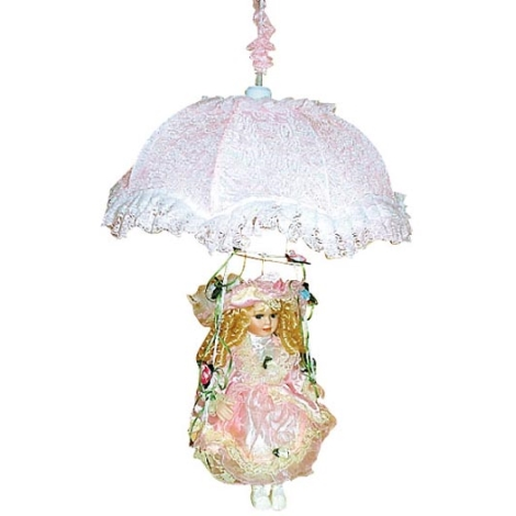 Gyereklámpa 1xE27/60W W-LPQQ 001 rózsaszín