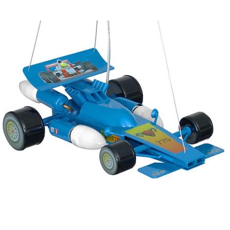 Gyermek csillár Formule 4xE14/60W kék