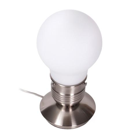 Ideal Lux 012001 - Asztali lámpa LUCE 1xE27/60W/230V