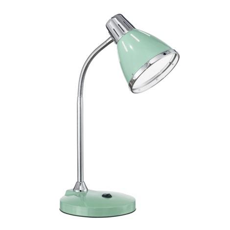 Ideal Lux 026725 - Asztali lámpa ELVIS 1xE27/60W/230V zöld