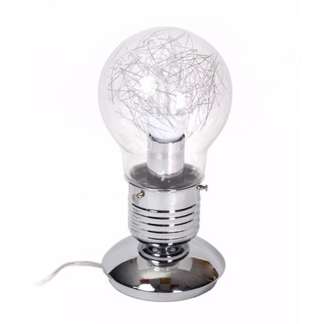 Ideal Lux 033686 - Asztali lámpa LUCE 1xE27/60W/230V