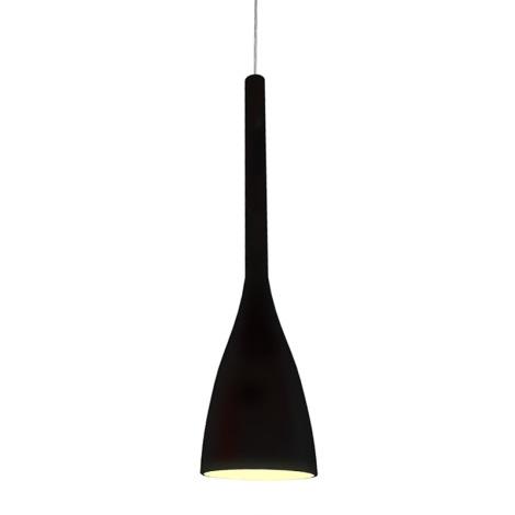 Ideal Lux 035680 - Csillár FLUT 1xE27/60W/230V fekete