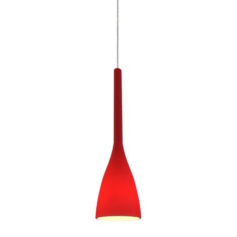 Ideal Lux 035703 - Csillár FLUT 1xE14/40W/230V piros