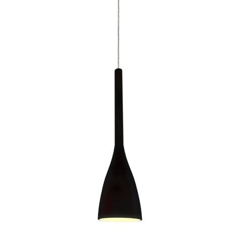 Ideal Lux 035710 - Csillár FLUT 1xE14/40W/230V fekete