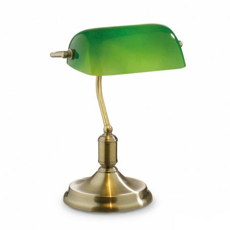 Ideal Lux 045030 - Asztali lámpa LAWYER 1xE27/60W/230V