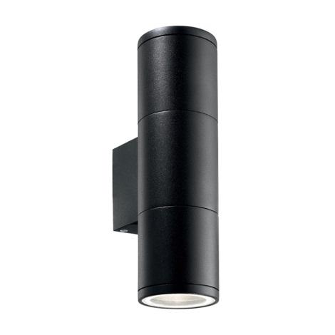 Ideal Lux 100395 - Kültéri fali lámpa GUN 2xGU10/35W/230V