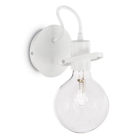 Ideal Lux 119465 - Fali lámpa 1xE27/60W/230V fehér