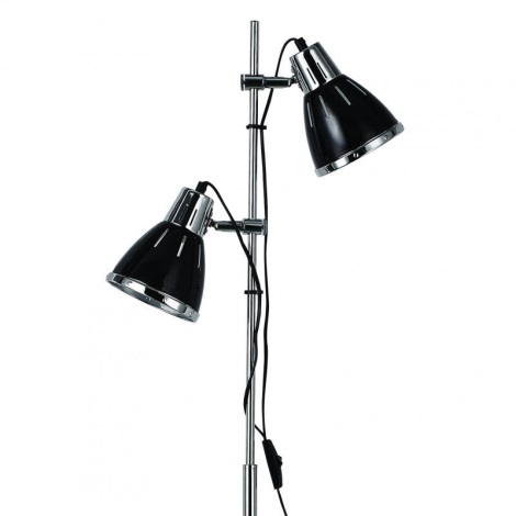 Ideal Lux 1197 - Állólámpa ELVIS 2xE27/60W/230V