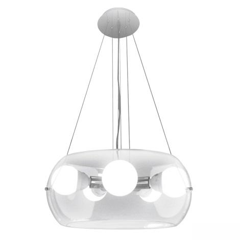 Ideal Lux 16863 - Csillár kötélen 10 SP5 5xE27/60W/230V