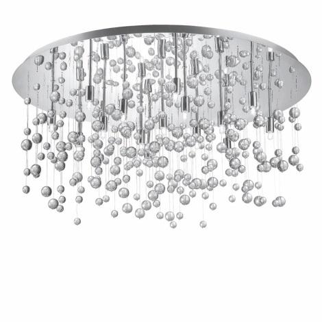 Ideal Lux 30784 -Mennyezeti lámpa  NEVE PL15 15xG9/40W/230V