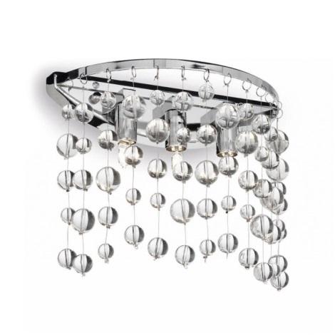 Ideal Lux 33938 - Fali lámpa NEVE 3xG9/40W/230V