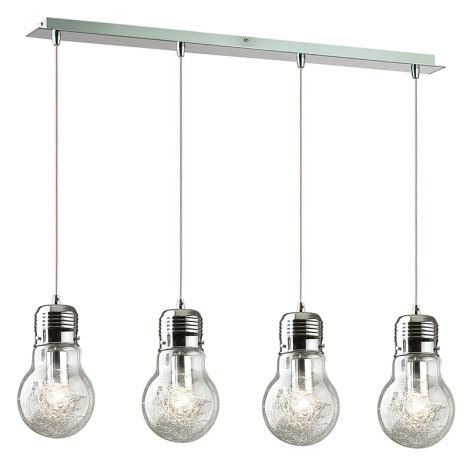 Ideal Lux 47799 - Függesztékes lámpa  LUCE MAX SB4 4xE27/60W/230V