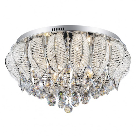 Ideal Lux 73613 - Mennyezeti kristály lámpa MOZART PL9 9xG9/40W/230V