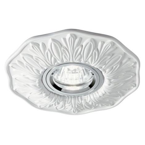 Ideal Lux - Beépíthető lámpa 1xGU10/50W/230V fehér