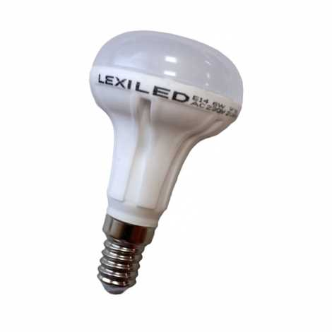 Izzó LED E14/6W 16x5630 SMD EPISTAR, meleg fehér