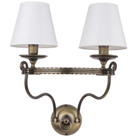 Jupiter 1438 - Fali lámpa BRISTOL 2xE14/40W/230V