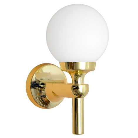 K 1 fali lámpa, arany 1xE14/40W