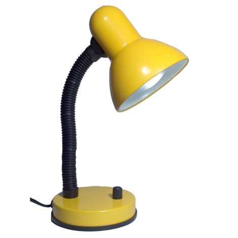 KADET-S asztali lámpa 1xE27/60W sárga