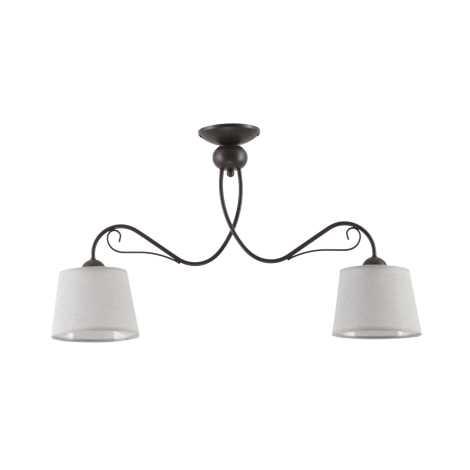 KAMELIA KM 2 PV - Mennyezeti lámpa 2xE27/60W/230V