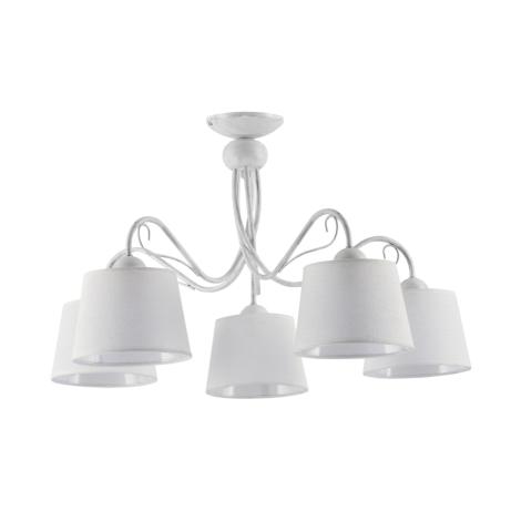 KAMELIA KM 5 PB - Mennyezeti lámpa 5xE27/60W/230V