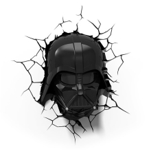 Kanlux 15219 - Gyereklámpa 3D STAR WARS DARTH VADER LED/3xAA