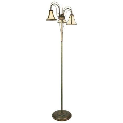 KEMAR 4029 - TANAJA T/LS/3 állólámpa 3xE14/60W zöld/arany