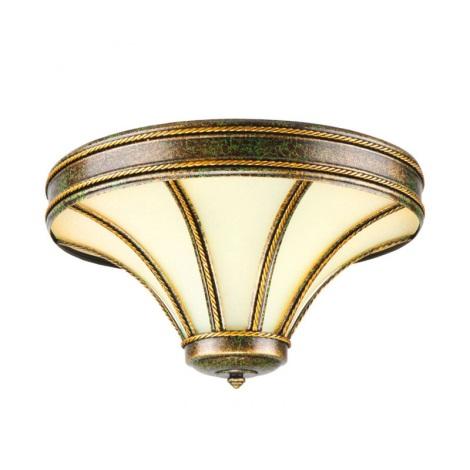 KEMAR 4033 - TANAJA T/D/P mennyezeti lámpa 2xE14/40W zöld/arany