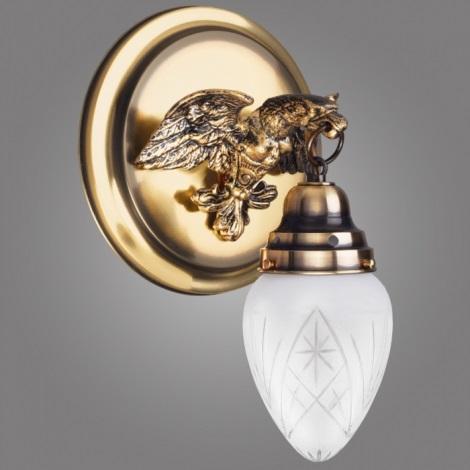 Kemar OK60/D/P - Fali lámpa OURO EAGLE 1xE27/60W/230V