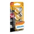 Készlet 2 x autó izzó Philips VISION 12498B2 P21W BA15s/21W/12V