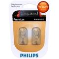 KÉSZLET 2x Autó izzó Philips VISION 12067B2 W16W W2,1x9,5d/16W/12V