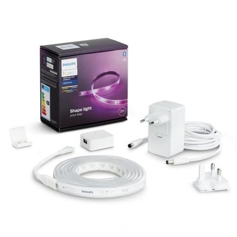 Kezdőcsomag  LED szalag Philips Hue LightStrips 2m