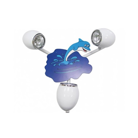 Klik 0115.03 - DELFIN fali lámpa 3xGU10/50W