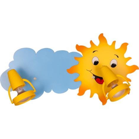 Klik 0118.02 - SUN mennyezeti lámpa 2xE14/40W