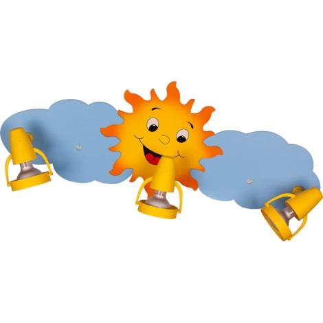 Klik 0118.03 - SUN mennyezeti lámpa 3xE14/40W