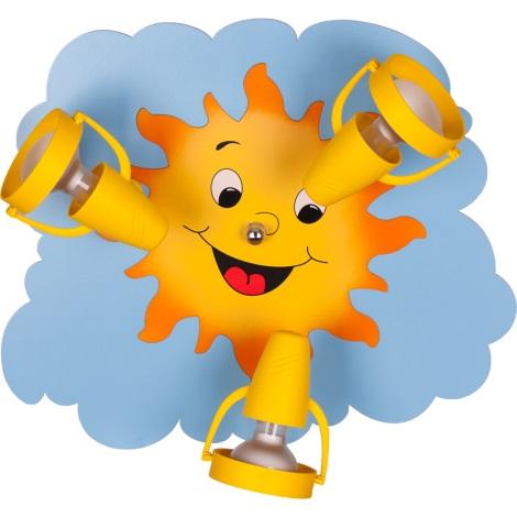 Klik 0118.04 - SUN mennyezeti lámpa 3xE14/40W