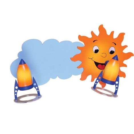 Klik 0119.02 - SUN mennyezeti lámpa 2xE14/40W