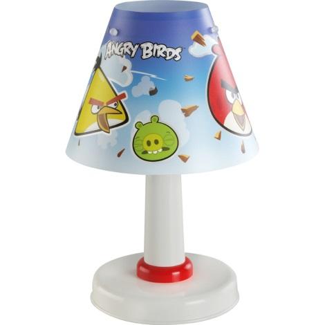 Klik 21881 - ANGRY BIRDS gyerek asztali lámpa 1xE14/40W